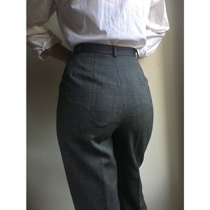 Vintage✨100% wool high waist trousers