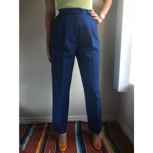 Vintage✨high waist blue trousers