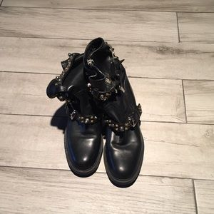 Gucci studded boots