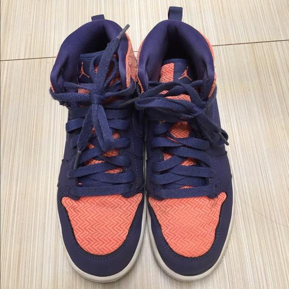 new product dd70c acc65 Girls air Jordan aj 1 high basketball sneakers