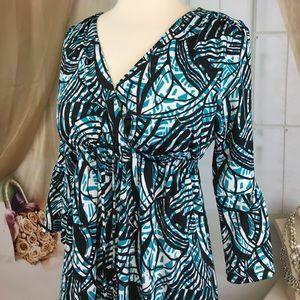 Karen Stevens Dresses - Karen Stevens Bell Sleeved Dress