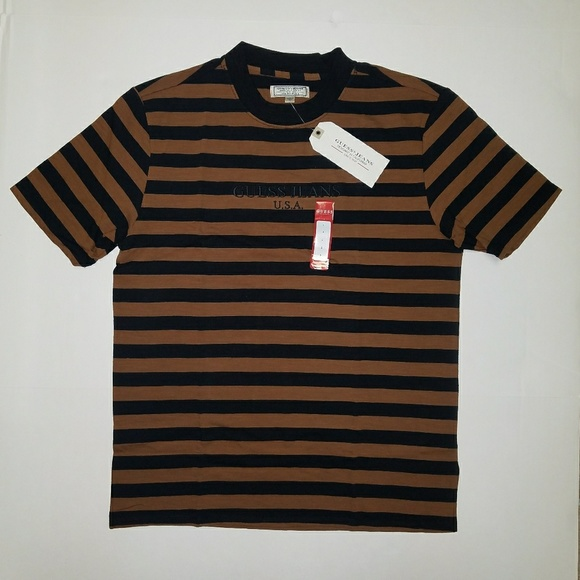 31ce993a484 Guess Shirts   Jeans Striped 1981 Shirt Large   Poshmark