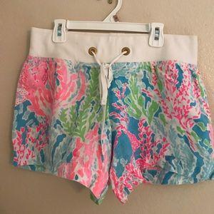 Lilly Pulitzer linen shorts