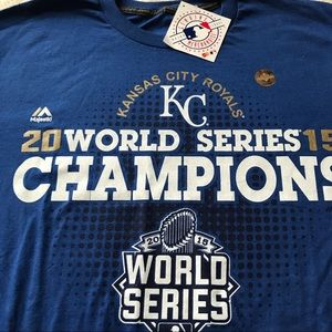 Other - Kansas City World Series Champions NEW t-shirts!!