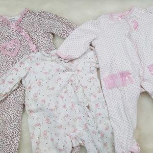 Little me 9 month footie bundle