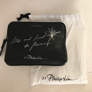 3.1 Phillip Lim 10th Anniversary Leather Pouch NEW
