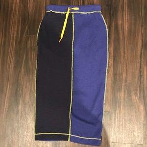 Patchwork Bodycon Skirt
