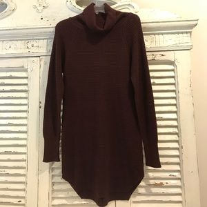 Knit Turtleneck Tunic