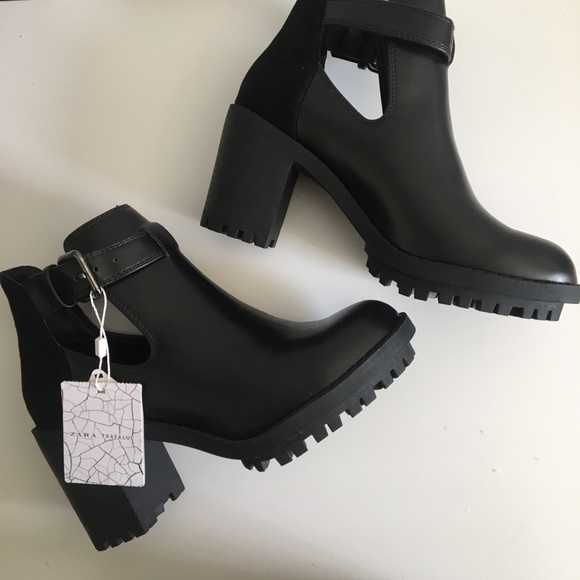 c5d8d7878abab Zara Shoes   Nwt Trafaluc Cut Out Ankle Booties   Poshmark