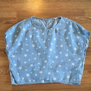 Zara Star print top