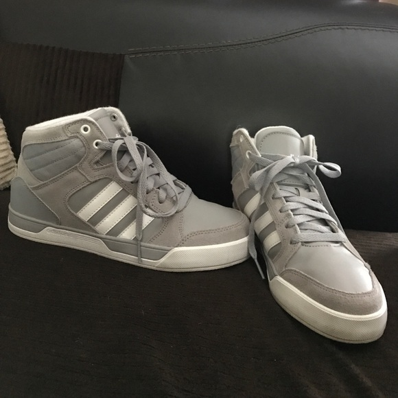 6f6dbbf0d48f29 adidas Shoes - Adidas NEO hightop sneaker kids size 6   woman s 7