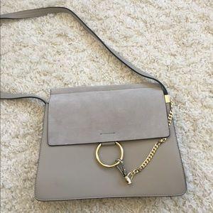 Handbags - Loop and chain bag - grey
