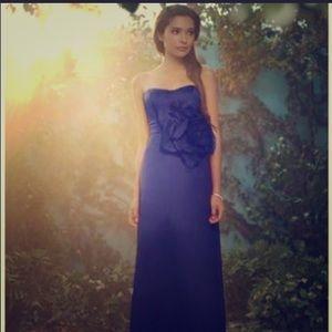 Alfred Angelo Eggplant Disney Formal Dress