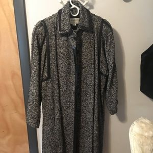 Balenciaga long winter coat