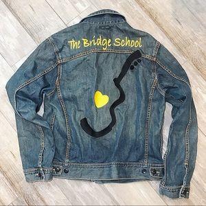 Lucky Brand Neil Young BENEFIT Denim Jacket