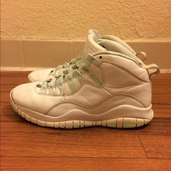 new product 101cc 6a0f3 Jordan Shoes - Nike Air Jordan 10 X Retro White Ice Green Red