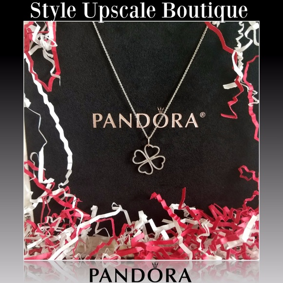 3c41eeb91 Pandora Jewelry   Sold Petals Of Love Pendant Necklace   Poshmark