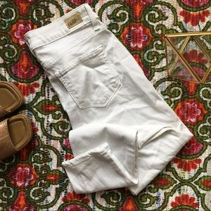 White Paige Verdugo Ankle Jeans Flawless