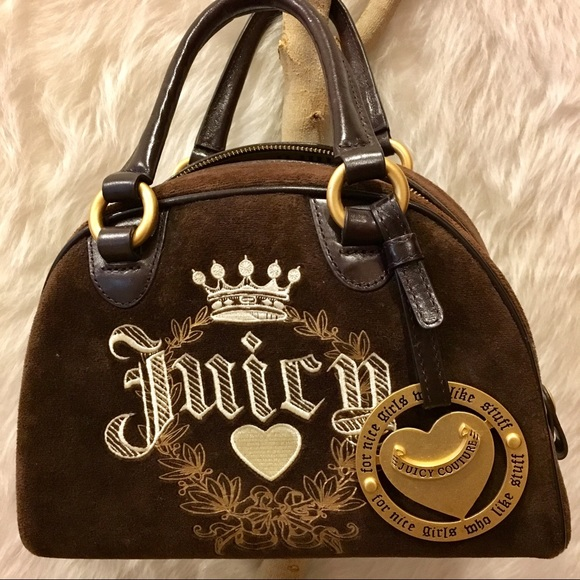 Juicy Couture Women s Barrel Purse Brown gold dbc7c2b7d6