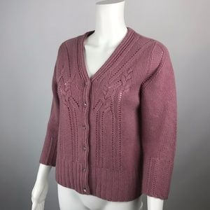 Bill MEDIUM Burns Cardigan Bill Sweater 100Cashmere Burns Sweaters qVLGpSUzM