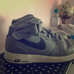 Nike Air Force 1 Mid Mens Basketball Shoes