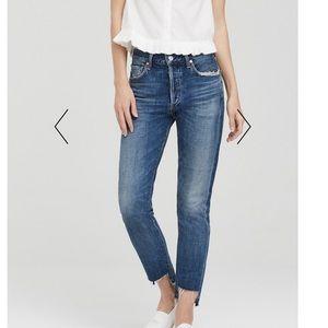 M-62 Liya high lo jeans rack