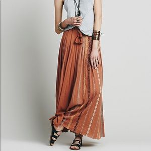 Free People 'Kathna' Maxi Skirt