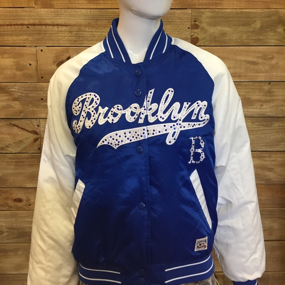 5be60fabc Cooperstown Collection G-lll By Carl Banks Accessories - Women's Brooklyn  Dodgers Rhinestone Jacket