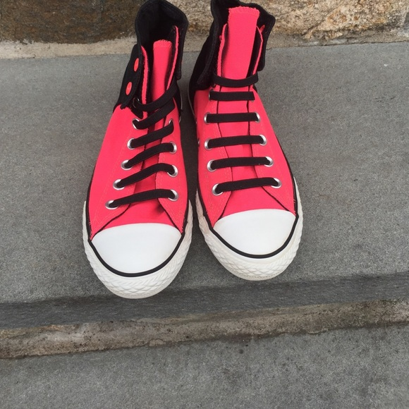 d8a60f4dbece Converse Other - Converse All Star ⭐ High Top No Tie Sneakers 4