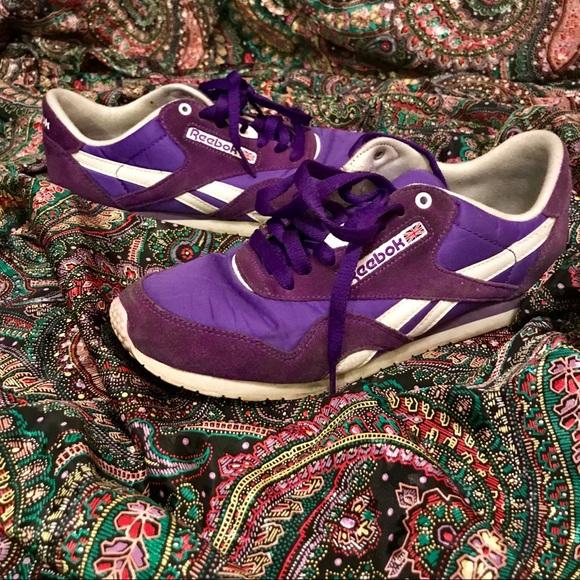 realmente cómodo sitio web para descuento nueva Reebok Shoes   Rare Purple Vintage Classic 90s Sneaker   Poshmark