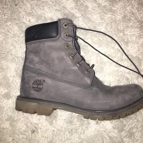 9afa6e6765524 Timberland Shoes - women s grey timbs❤️