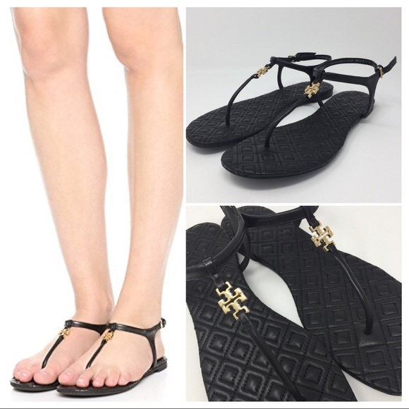 be4e9164c002 TORY BURCH MARION QUILTED SANDALS SZ 8. M 59d7dfe19818293fb60199c8