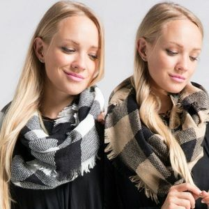 Accessories - Buffalo Plaid Infinity Scarf