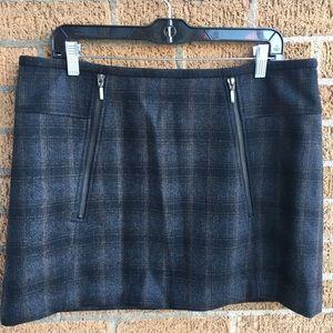 Kenar Plaid Skirt