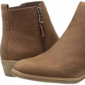 Ralph Lauren Leather Ankle Boots Sz 9.5 NWOB