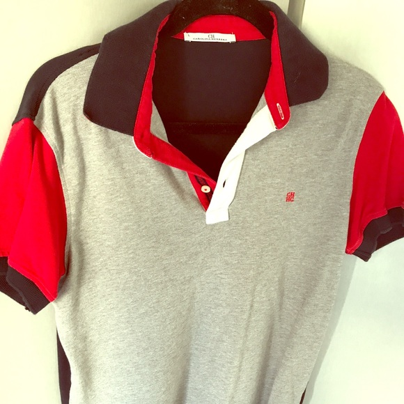8097cc565 Carolina Herrera Other - Carolina Herrera Men's logo Polo Tshirt