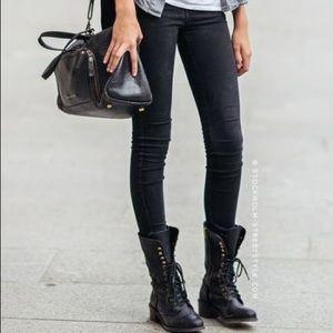 Edgy Black Combat Boots