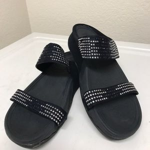 Fitflop sandals w/Rhinestone sandals size 8