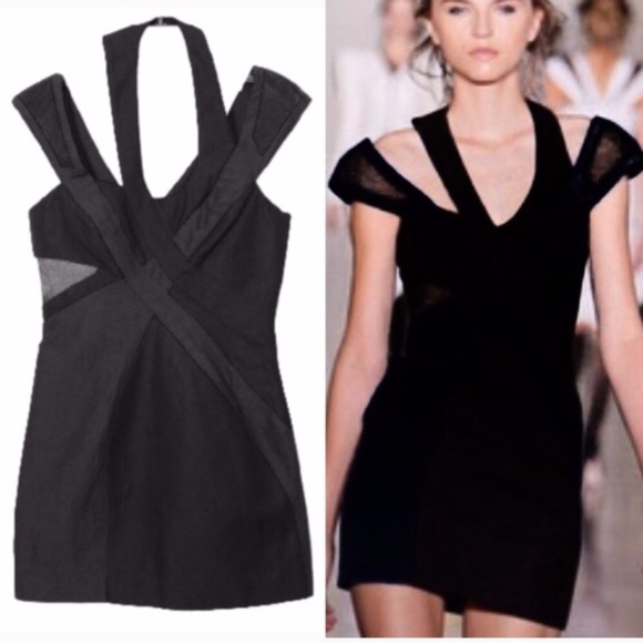 Jill Stuart Dresses - JILL STUART $528 Lanny runway strappy mini dress
