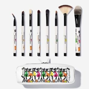 NWT SMASHBOX LtdEdBrush BAG incl 8 BRUSHES 35% off