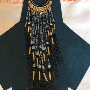 Jewelry - NWT long beaded statement necklace