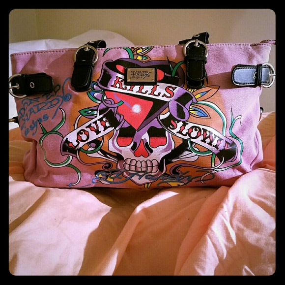 4f5ce2ea5a Ed Hardy Handbags - Ed Hardy  Love Kills Slowly  Purse