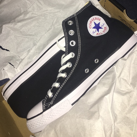 hot sales wide range another chance Converse Shoes | All Star High Top Black Trainer | Poshmark