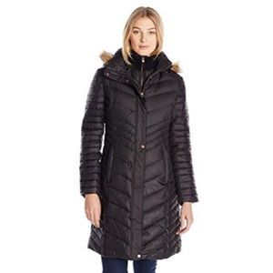 Marc New York Karla Puffer Coat-Black, Size 1X