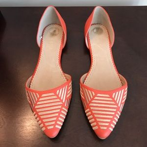 Restricted Aztec Tribal Pointed Ballet Flats