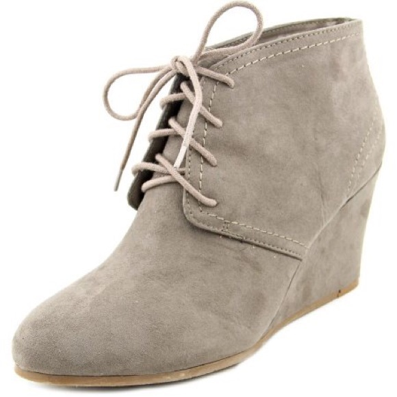 Arizona Jean Company Shoes - Lace-Up Wedge Ankle Booties