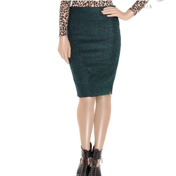 9d0f64979 Diane Von Furstenberg Skirts | Nwt Diane Vf Martini Boucl Woolblend ...