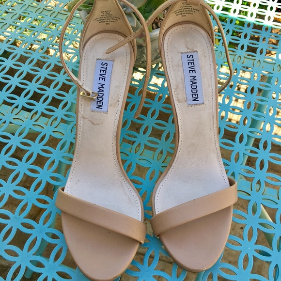 SOLD 7.5 Nude Steve Madden Stecy