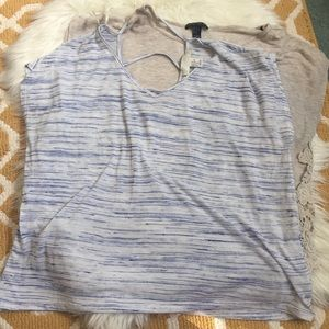 TWO forever 21+ tops size 1X