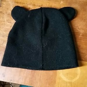 Black Beanie With Ears